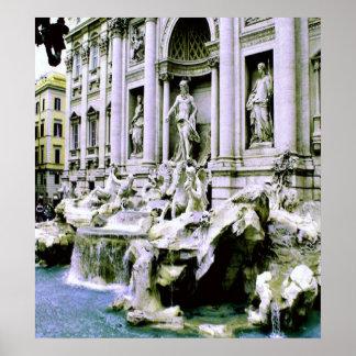 Trevi Fountain Print