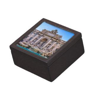 Trevi fountain, Roma, Italy Jewelry Box