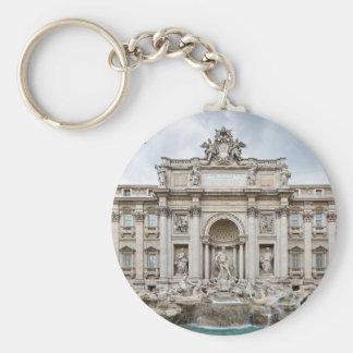 Trevi-Fountain,-Rome,-Angie.JPG Basic Round Button Keychain