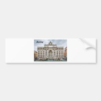 Trevi-Fountain,-Rome,-Angie.JPG Bumper Sticker