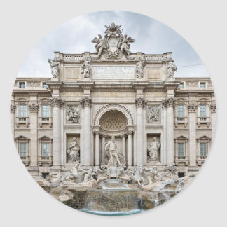 Trevi-Fountain,-Rome,-Angie.JPG Classic Round Sticker