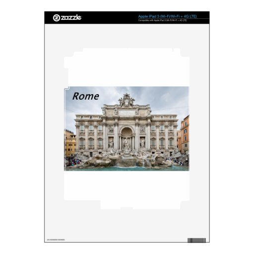 Trevi-Fountain,-Rome,-Angie.JPG Skins For iPad 3