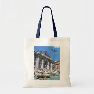 Trevi Fountain- Rome Canvas Bags