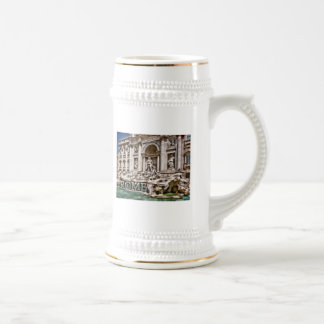 Trevi Fountain Rome Italy Beer Stein