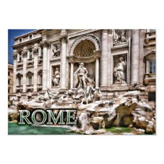 Trevi Fountain Rome Italy Card