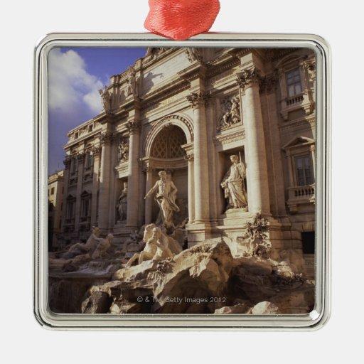 Trevi Fountain, Rome, Italy Christmas Ornaments