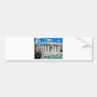 Trevi-Fountain-Rome-Italy-[kan.k].JPG Bumper Sticker