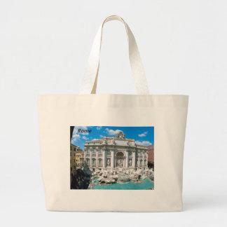 Trevi-Fountain-Rome-Italy-[kan.k].JPG Canvas Bags
