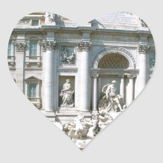 Trevi-Fountain-Rome-Italy-[kan.k].JPG Heart Sticker