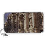 Trevi Fountain, Rome, Italy Notebook Speakers