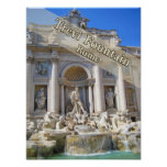 Trevi Fountain Rome Italy Posters