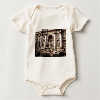 Trevi Fountain Rome Italy Travel Baby Bodysuit