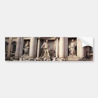 Trevi Fountain Rome Italy Travel Bumper Sticker