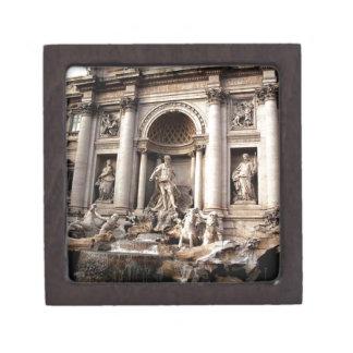 Trevi Fountain Rome Italy Travel Jewelry Box