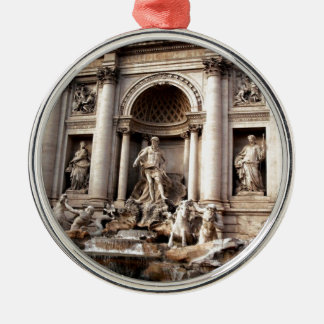 Trevi Fountain Rome Italy Travel Metal Ornament
