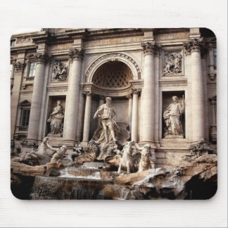 Trevi Fountain Rome Italy Travel Mouse Pad