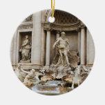 Trevi Fountain Rome Italy Travel Photo Ceramic Ornament