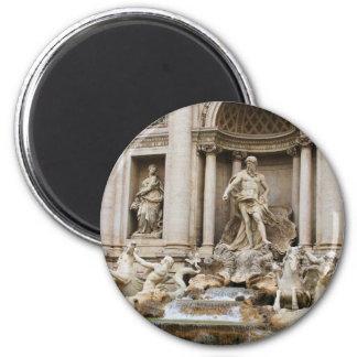 Trevi Fountain Rome Italy Travel Photo Magnet