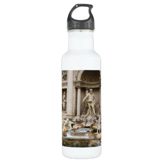 Trevi Fountain Rome Italy Travel Photo Water Bottle