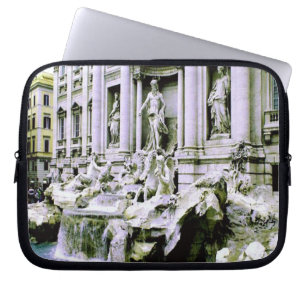 Trevi Fountain Rome Laptop Sleeve