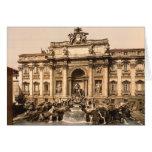 Trevi Fountain, Rome, Lazio, Italy Card