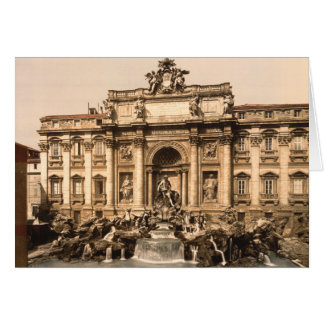 Trevi Fountain, Rome, Lazio, Italy Greeting Card