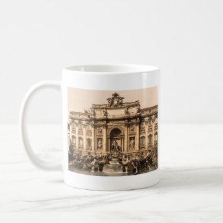 Trevi Fountain, Rome, Lazio, Italy Classic White Coffee Mug