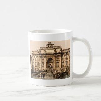 Trevi Fountain Rome Lazio Italy Coffee Mug