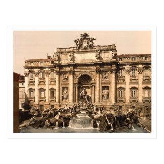 Trevi Fountain, Rome, Lazio, Italy Postcard