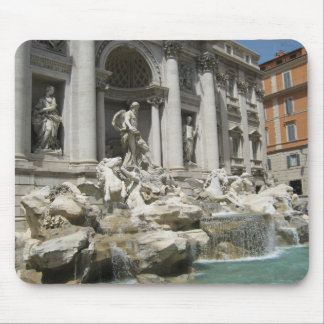 Trevi Fountain Rome Mouse Mat Mouse Pad
