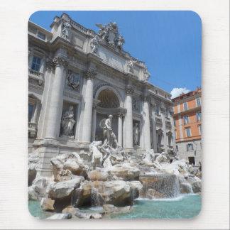 Trevi Fountain- Rome Mouse Pad