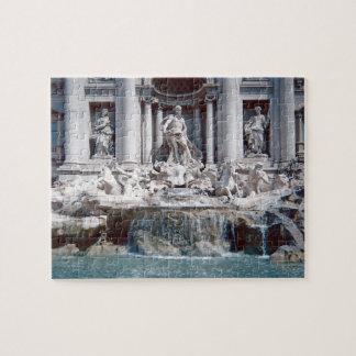 Trevi Fountain Rome Photo Difficult Jigsaw Puzzle