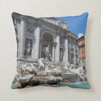 Trevi Fountain- Rome Throw Pillows