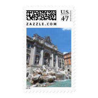 Trevi Fountain- Rome Postage