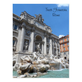 Trevi Fountain- Rome Postcard