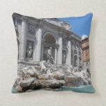Trevi Fountain- Rome Throw Pillow