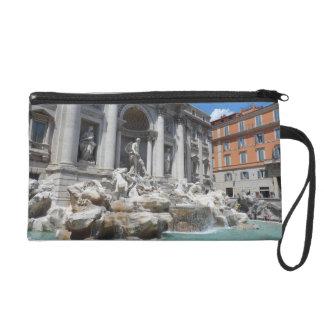 Trevi Fountain- Rome Wristlet Purse