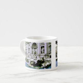 Trevi Fountain Espresso Cups