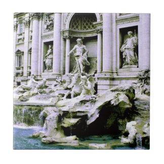 Trevi Fountain Ceramic Tile