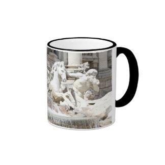 Trevi Fountain Triton and Horse Mug