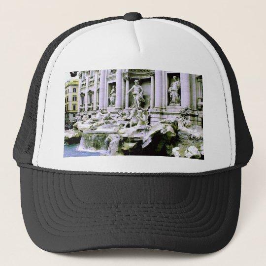 Trevi Fountain Trucker Hat