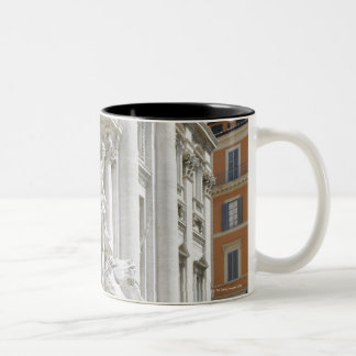 Trevi Fountain Two-Tone Coffee Mug