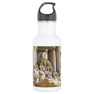 trevi fountain water bottle