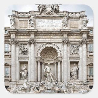Trevi-Fuente, - Roma, - Angie.JPG Calcomania Cuadradas Personalizada