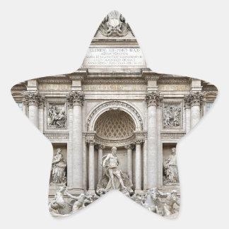 Trevi-Fuente, - Roma, - Angie.JPG Calcomania Forma De Estrella Personalizadas