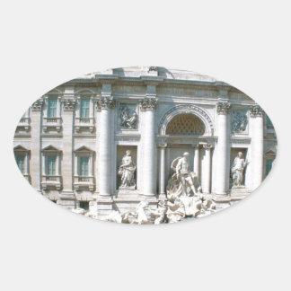 Trevi-Fuente-Roma-Italia [kan.k] .JPG Calcomanías De Óvales Personalizadas