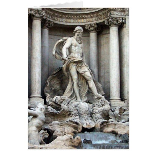 trevi statue cards