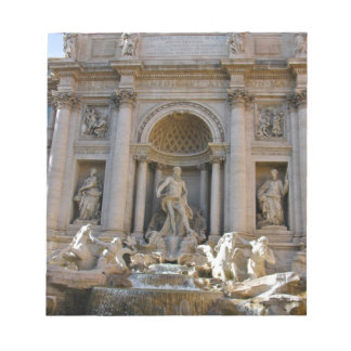 Trevi well in Rome - Italy Notepad