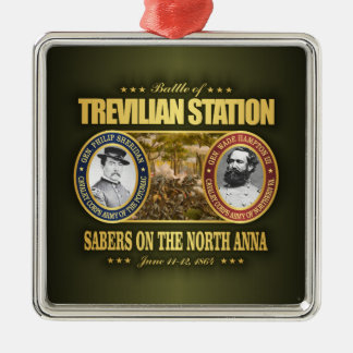 Trevilian Station (FH2) Metal Ornament