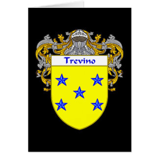 Trevino Coat of Arms/Family Crest Card
